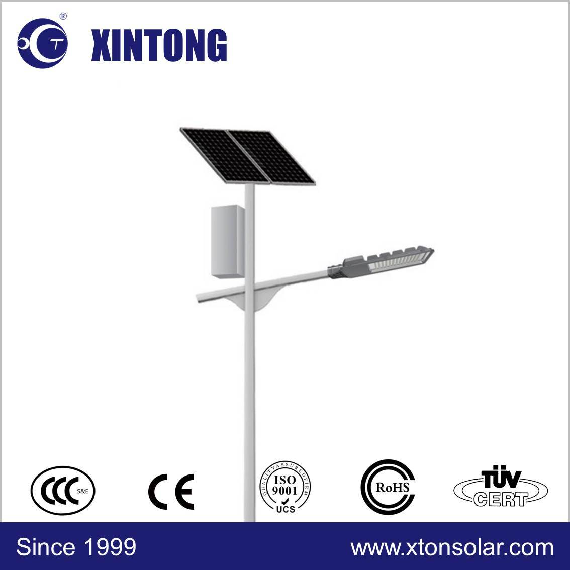 Solar Ed Led Street Light Battery