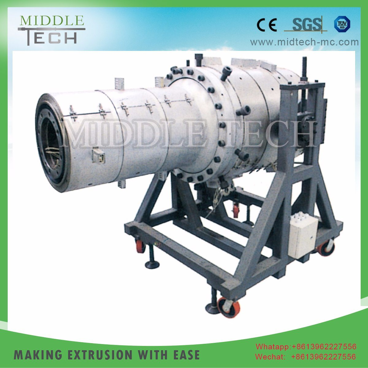 China Plastic Pvc Upvc Electricity Electric Electrical Conduit Cable Pipe Through Which Wires Are Run This Tube Hose Machine Extrusion Manufacturer
