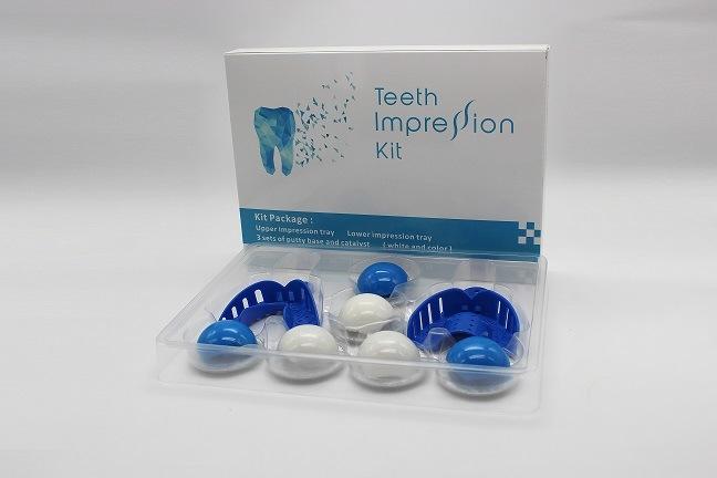 China Manufacture Food Grade Dental Silicone Mould Making Impression