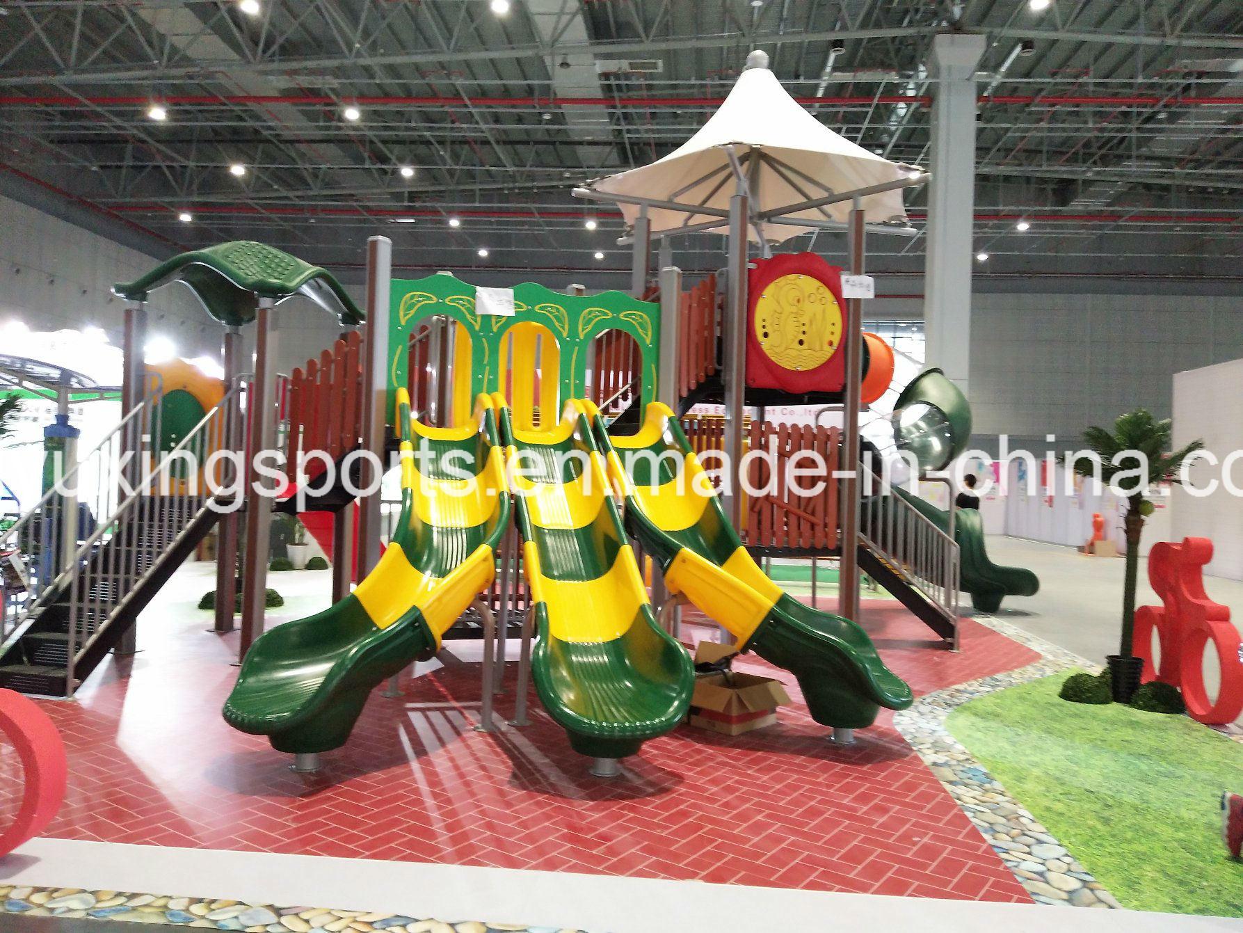 China Kids Play Park Used Outdoor Playground Equipment China