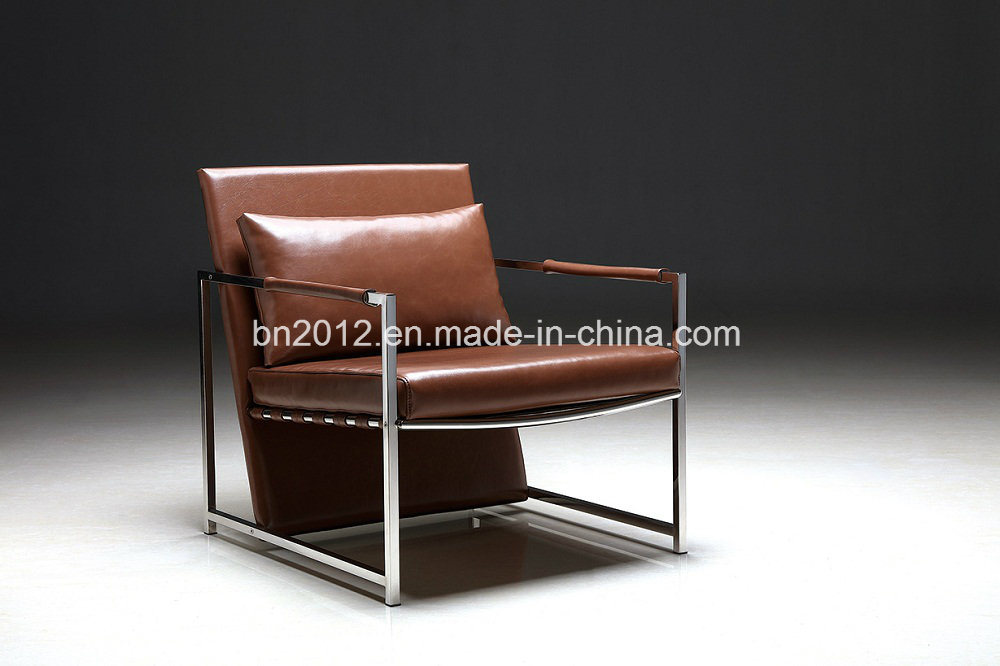China The European Design Best Lounge Chair Stainless Steel Frame Ec 043 Home Furniturre Living Room