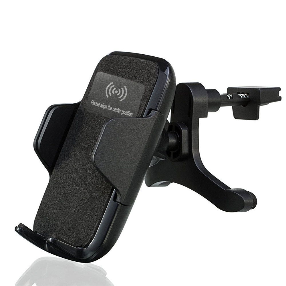 Qi Wireless Car Charger Fast Charging Station/Holder/Mount (W8) pictures & photos