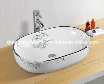 Ceramic Washing Basin Bathroom Basin (MG-0018)