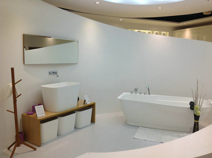 China Vanity Top in Corian Solid Surface Material Photos & Pictures ...
