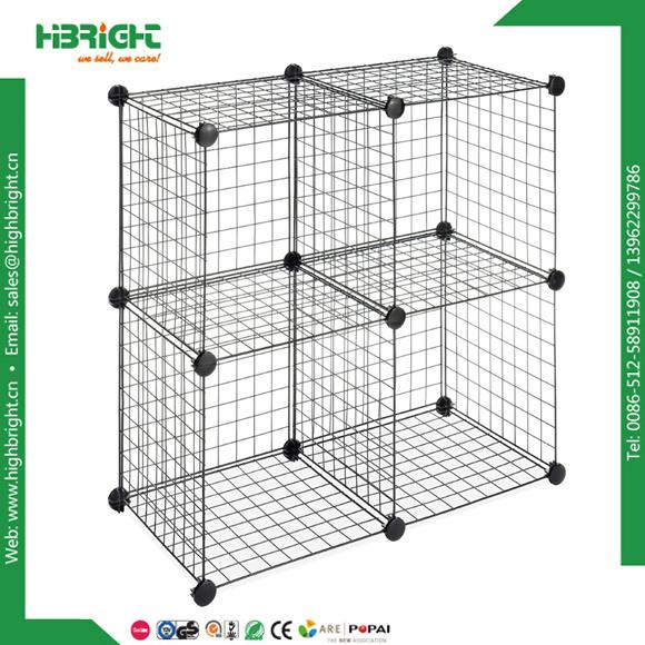 Interlocked Modular Grid Wire Mesh Storage Cubes  sc 1 st  Suzhou Highbright Enterprise Limited & China Interlocked Modular Grid Wire Mesh Storage Cubes Photos ...