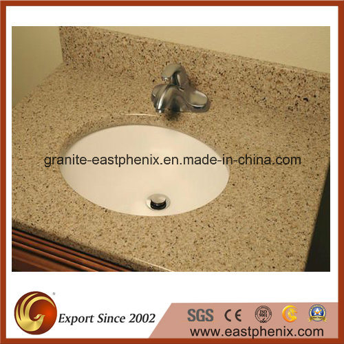 Competitive Price White Quartz Stone Vanity Top