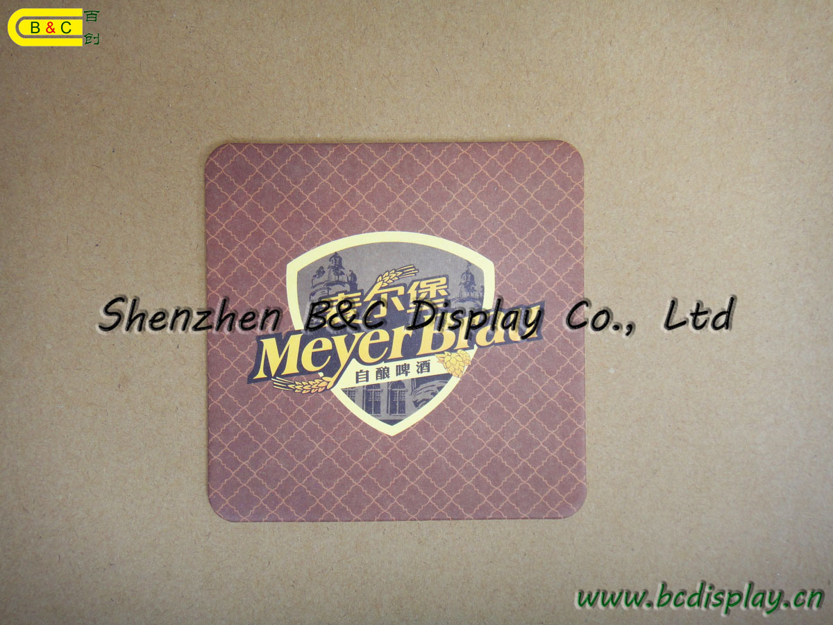 High Quality Absorbent Coaster, Paper Coasters, Promotion Different Design Cup for Gifts Coaster (B&C-G079) pictures & photos