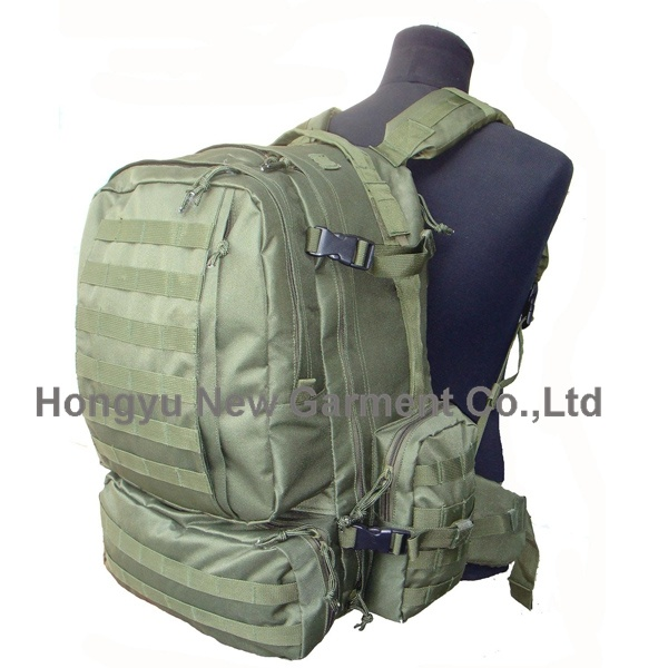 3D Green Big Size Military Molle Backpack
