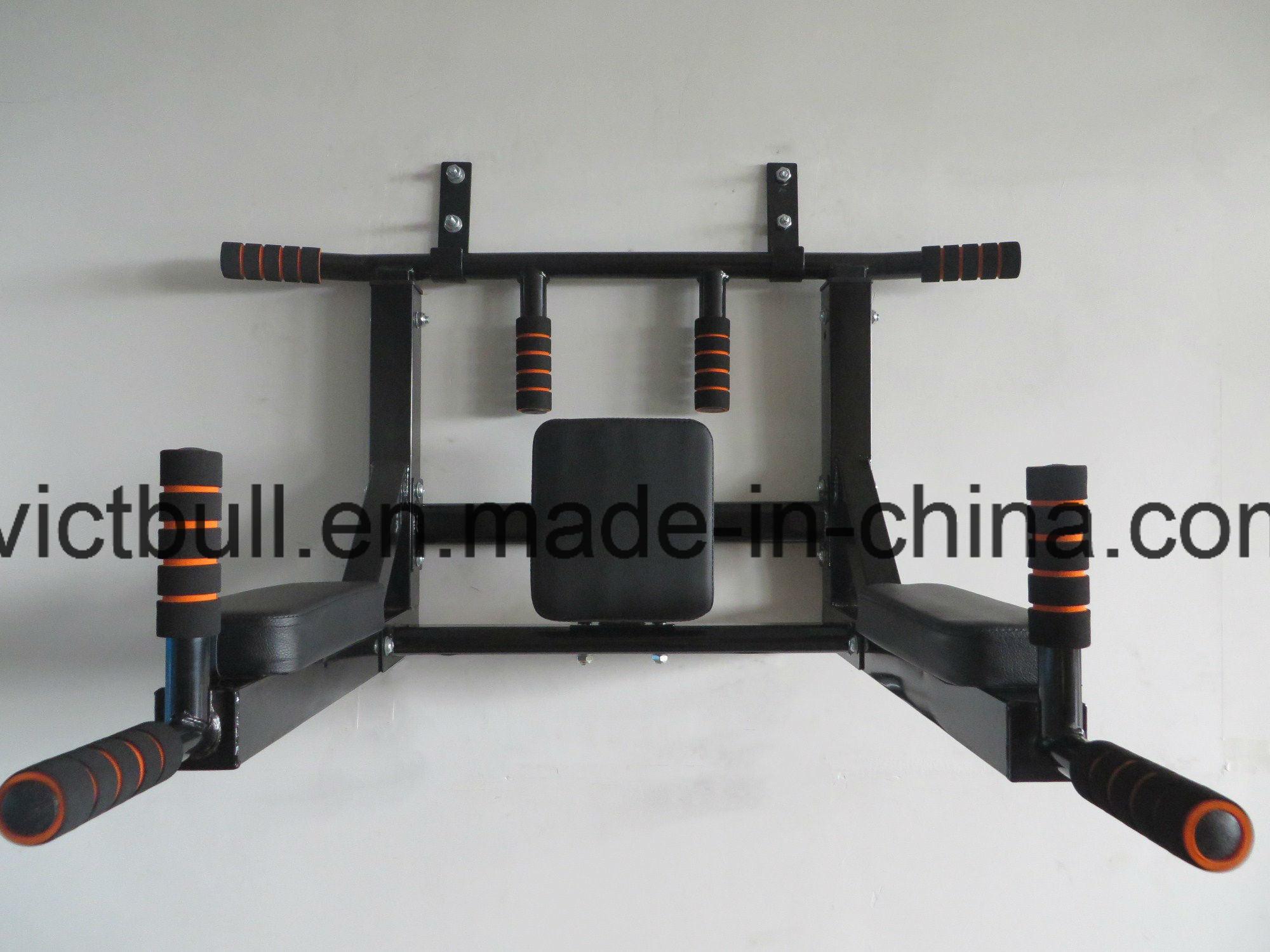 China Home Gym Equipment Wall Mounted Chin Up Bar Pull Up Bar Photos
