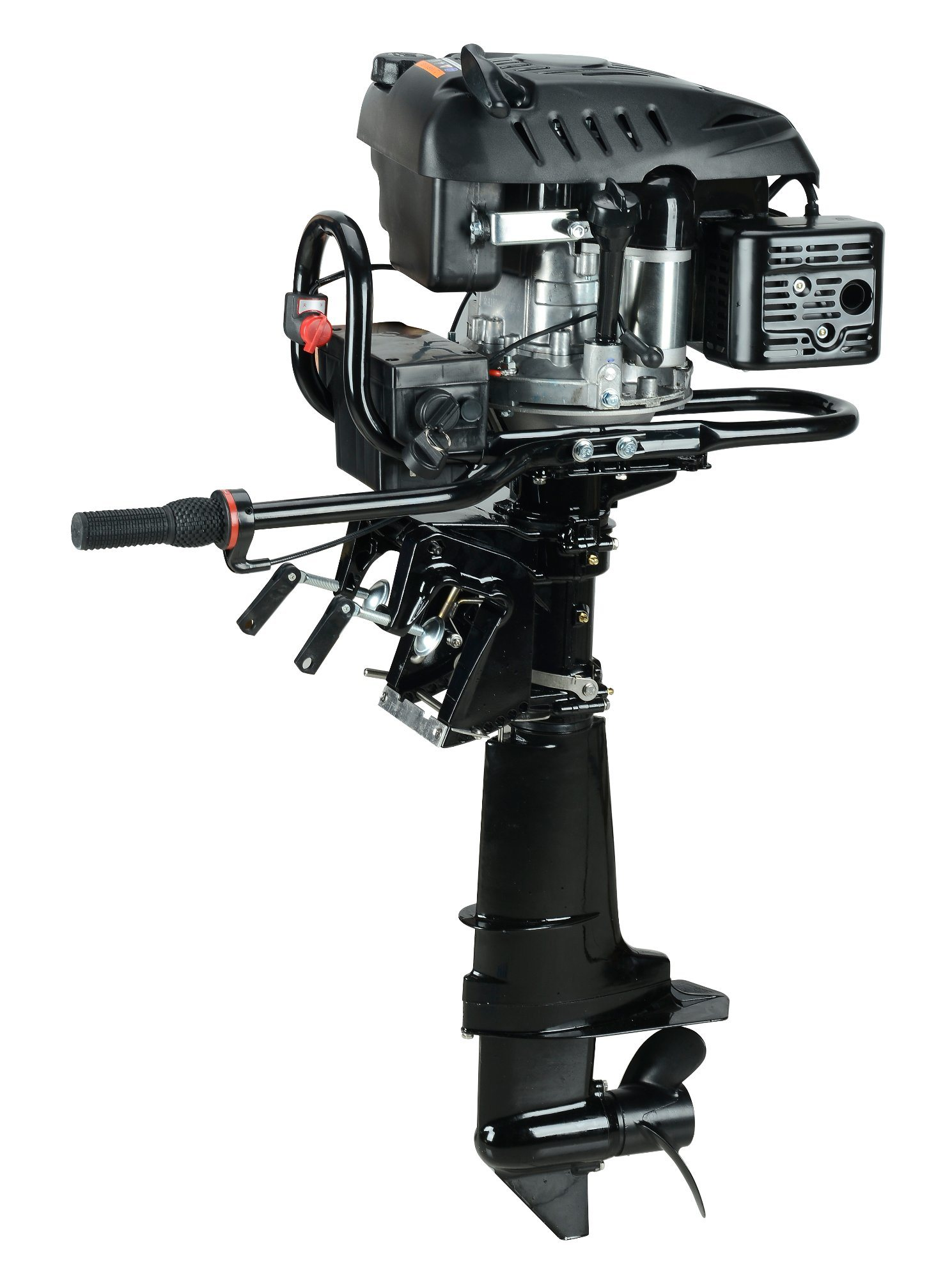[Hot Item] 4 Stroke Rato 7HP Outboard Motor with Reverse, Electric Start/  Outboard Engine/ Boat Engine