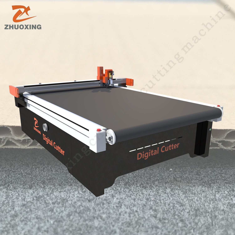 [Hot Item] Zhuoxing Digital Flatbed PVC Cardboard Paper Cutter Foam Board  Cutting Machine High Speed Cardboard Fabric Cutting Board Equipment Machine