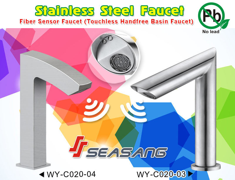 Stainless Steel Bathroom Lavatory Basin Automatic Sensor Water Faucet pictures & photos