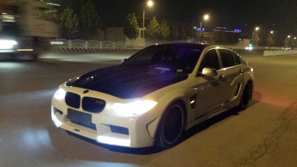 China FRP Fiberglass Car Auto Racing Bodykits for BMW 5 Hamann