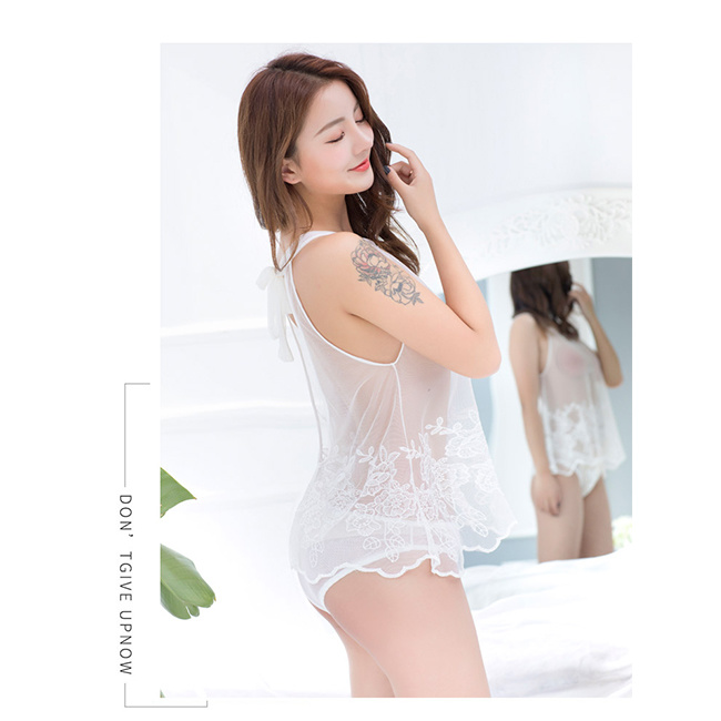 6592ba10f9c China Sexy Lace Sleepwear Women Hot Babydoll Lingerie Sex Photos ...