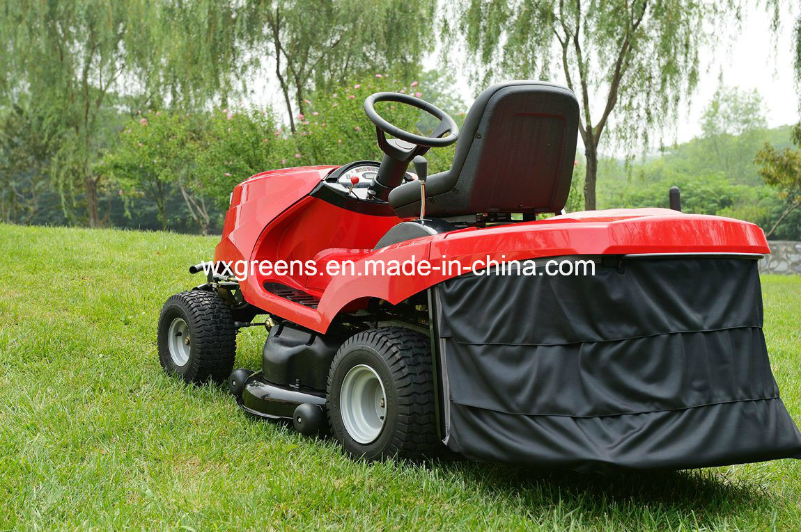 [Hot Item] B&S Powered Ride on Tractor/Lawn Mower with Catcher