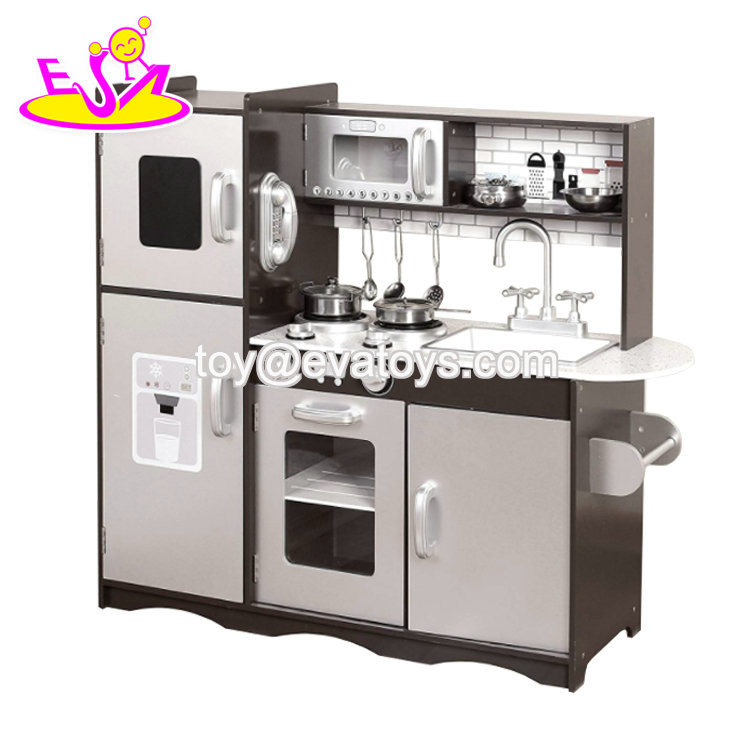 China 2019 New Arrival Wooden Children Kitchen Set For Role Play