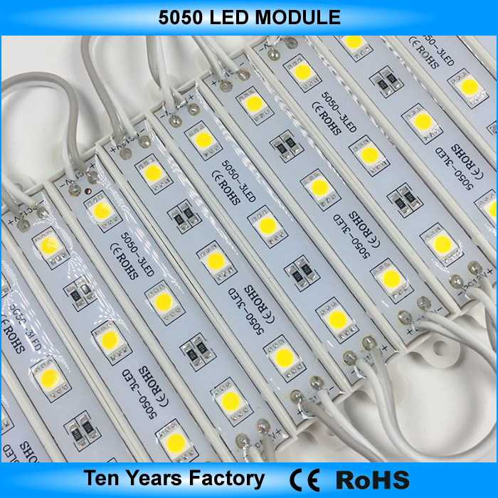 Samsung SMD 2835 Waterproof LED Module for 8-18cm Advertising Sign Light Box