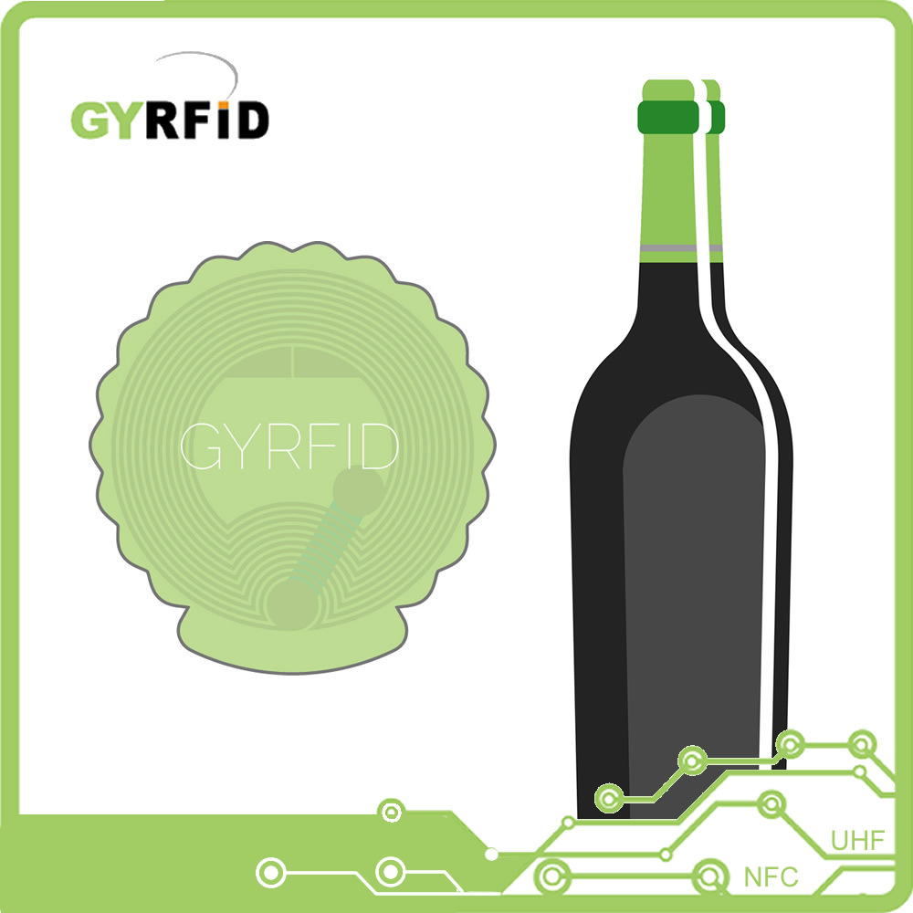 Printable NFC Stickers Sticker RFID for Winebottle (LAP-BT03) pictures & photos