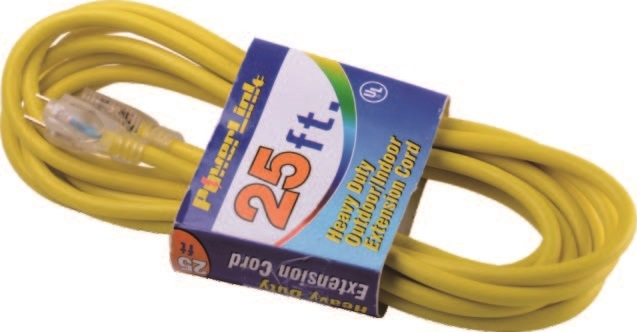 Outdoor Extension Cord with Indicator Light (06-GGPT6516T)