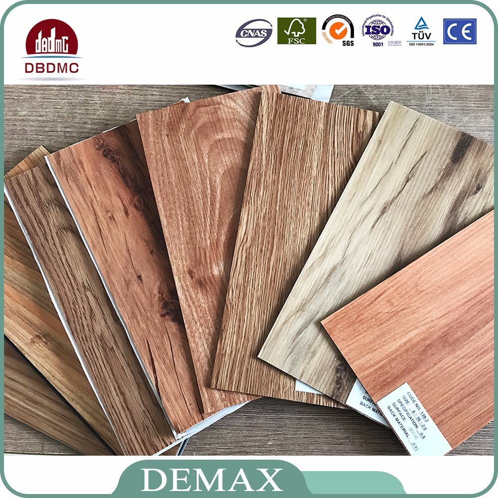 China Handsed Eir Surface 5mm High Gloss Vinyl Flooring Floor Tile