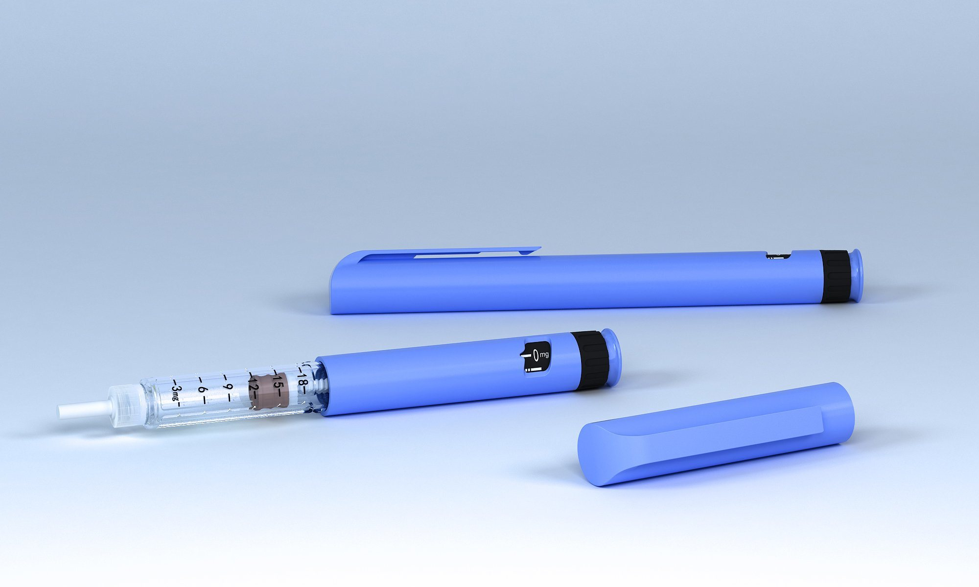 China Diabetes Injection with Insulin Pen for Decreasing Blood Sugar -  China Disposable Insulin Injection Pen, Insulin Pen