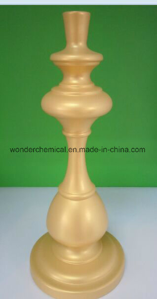 Golden Epoxy Polyester Powder Coating for Aluminium