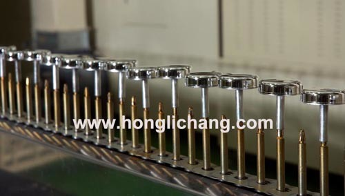 Automatic Vacuum Metallizing UV Coating Line for Perfume Bottle Caps