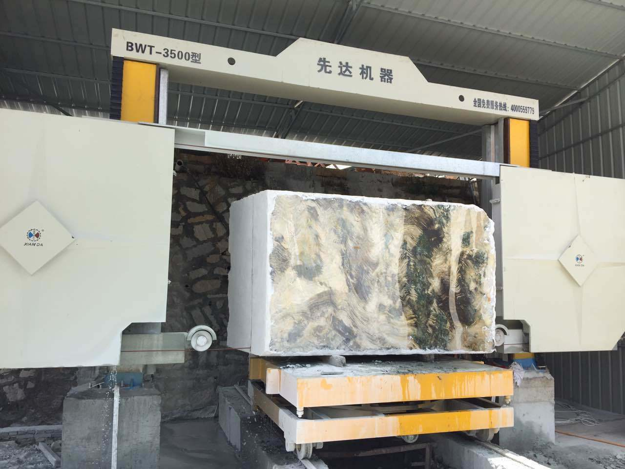 China Diamond Wire Saw Edge Stone Cutting Machine for Marble ...