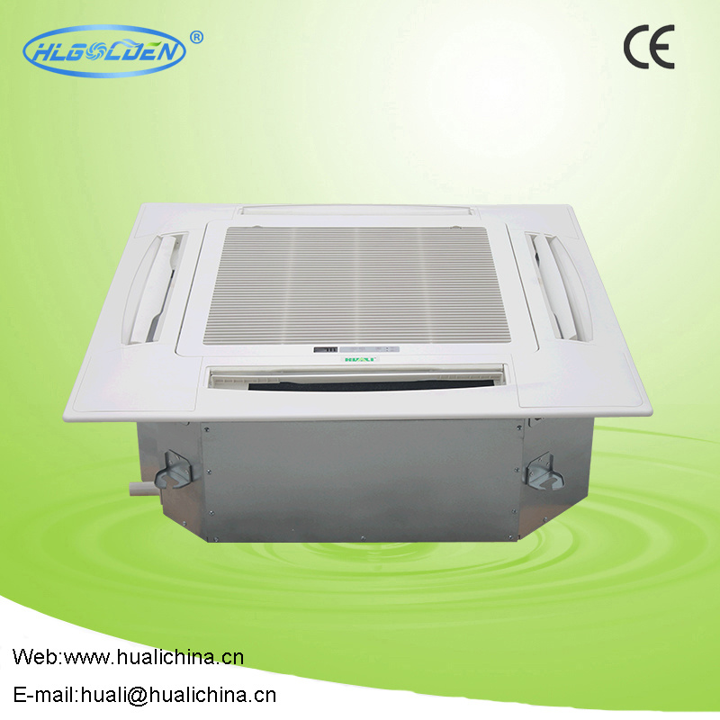 China Ce Chilled Water Ceiling Mounted Cassette Fan Coil Unit