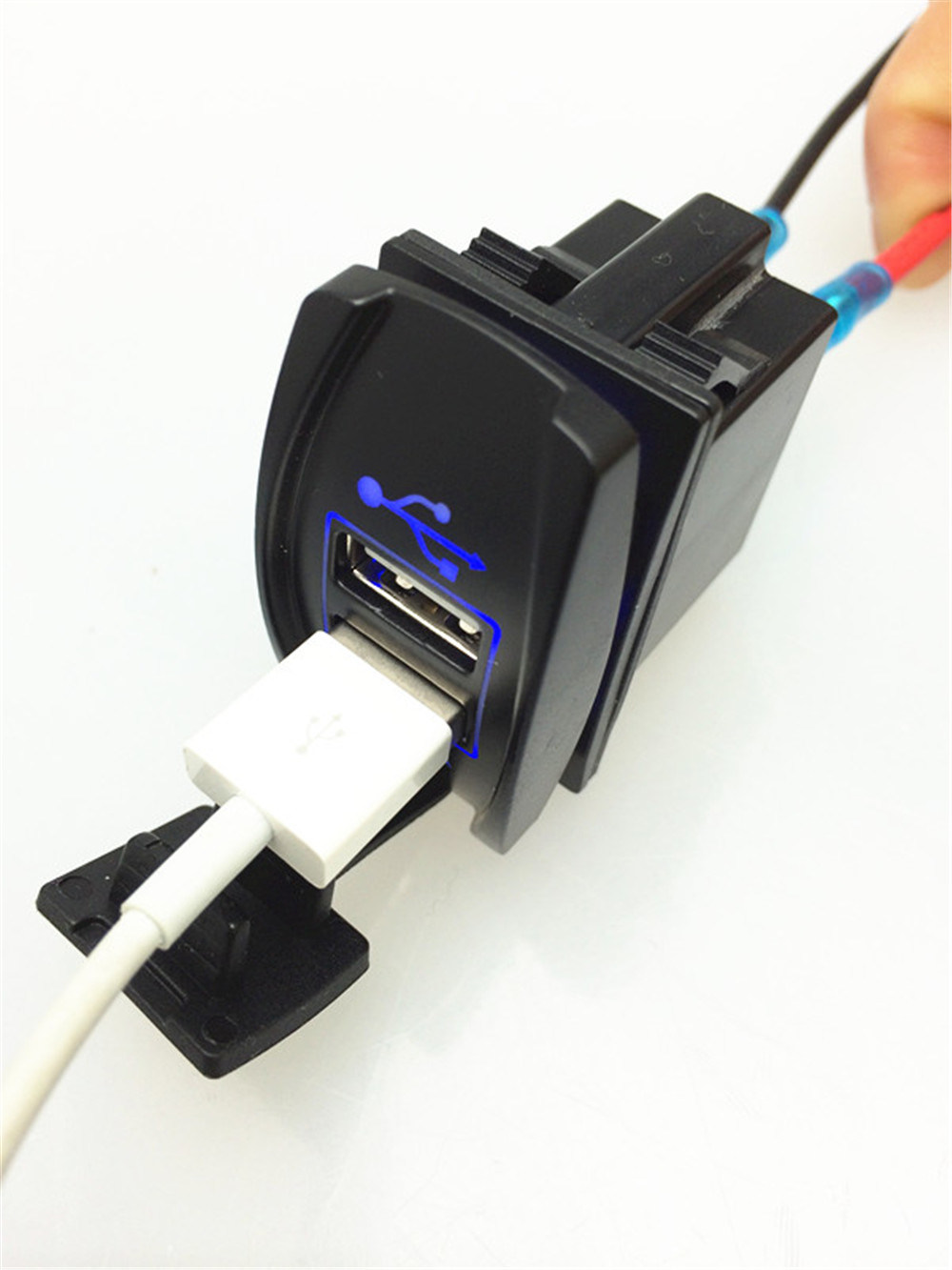 Universal Motorcycle Cigarette Lighter Power Charger Adapter