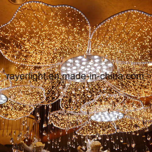 Hotel Led Decoration Flower Lights For Hall