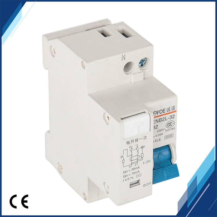 Dpnl 1p+N 32A 230V Residual Current Circuit Breaker pictures & photos