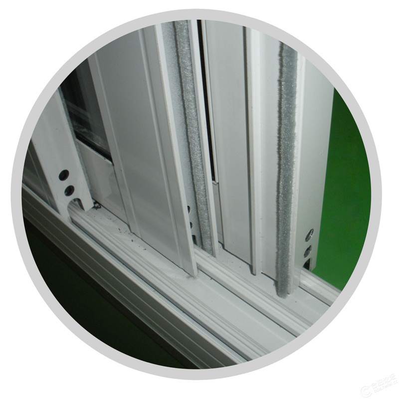 Modern House Sliding Aluminum Window with Toughened Glass