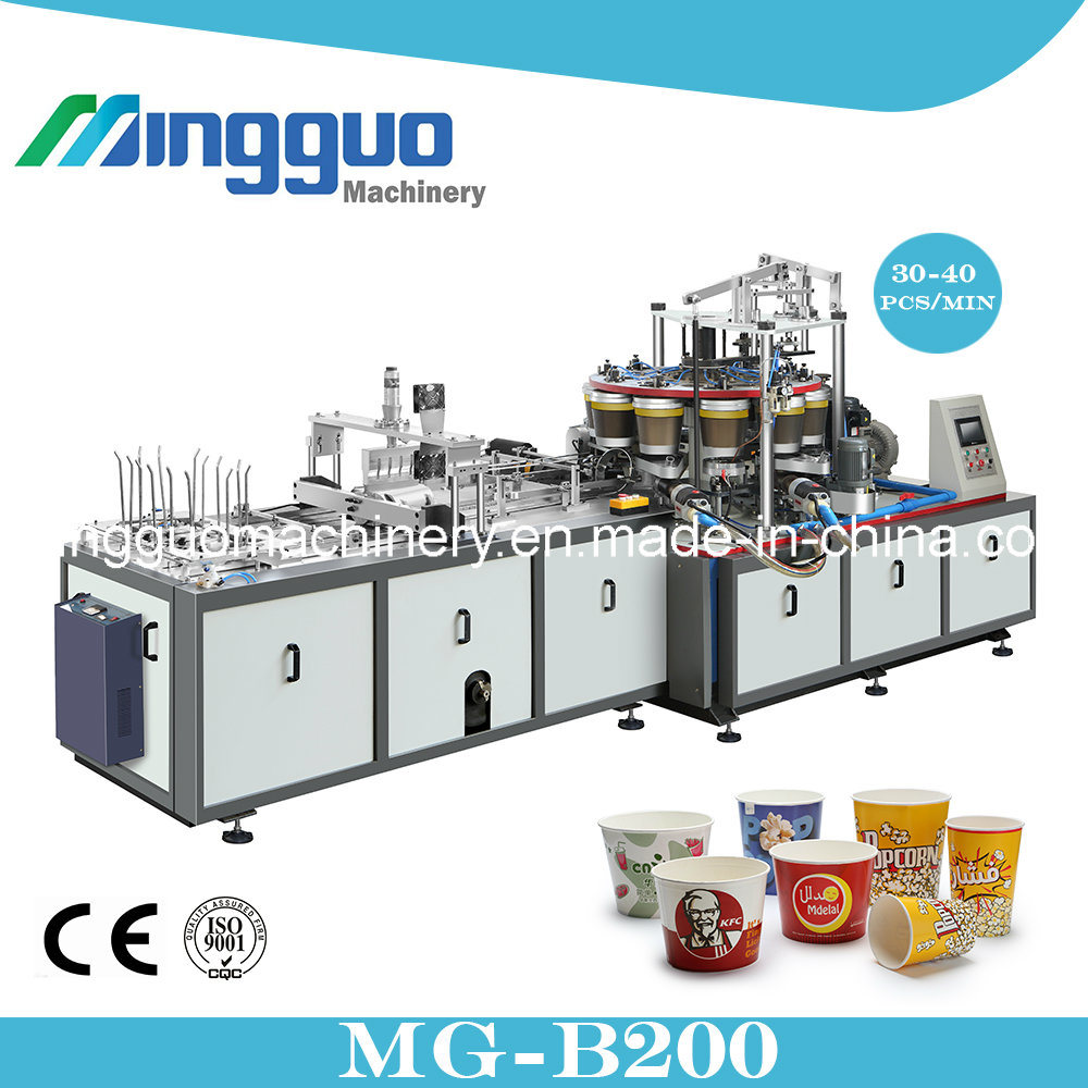 Paper Bucket Fired Chicken Paper Cup Making Machine