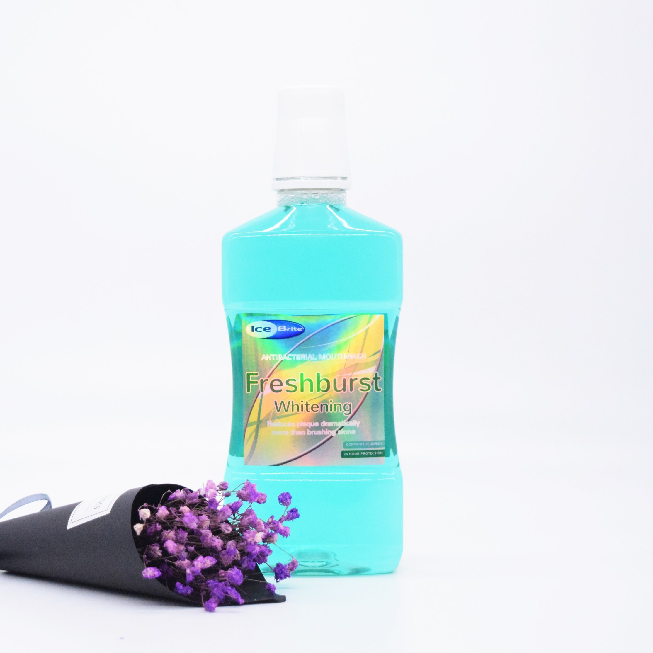 [Hot Item] Private Label Freshburst Mouthwash Mint Mouth Wash for Person  Care