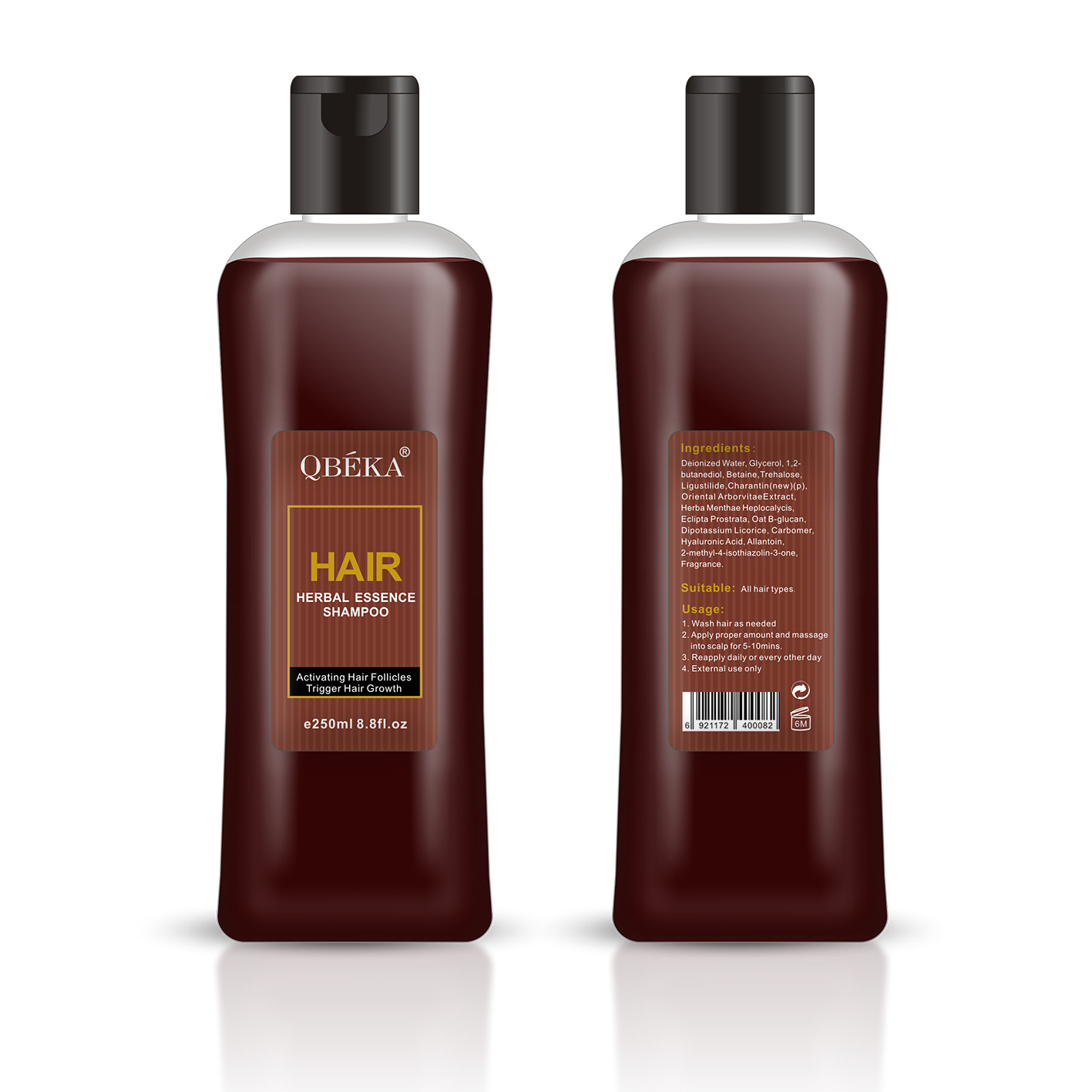 OEM Hair Growth Shampoo for Hair Regrowth and Anti Hair Loss Hair Growth Spray