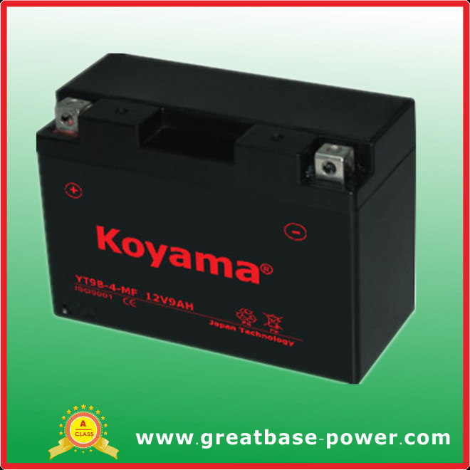 12V 9ah Motorcycle Riding Mower Battery ATV Motor Battery Yt9b-Bs pictures & photos