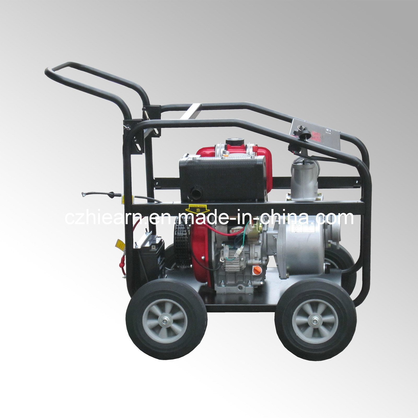 China 3 Inch Mobile Electric Start Diesel Water Pump (DP30E) - China ...