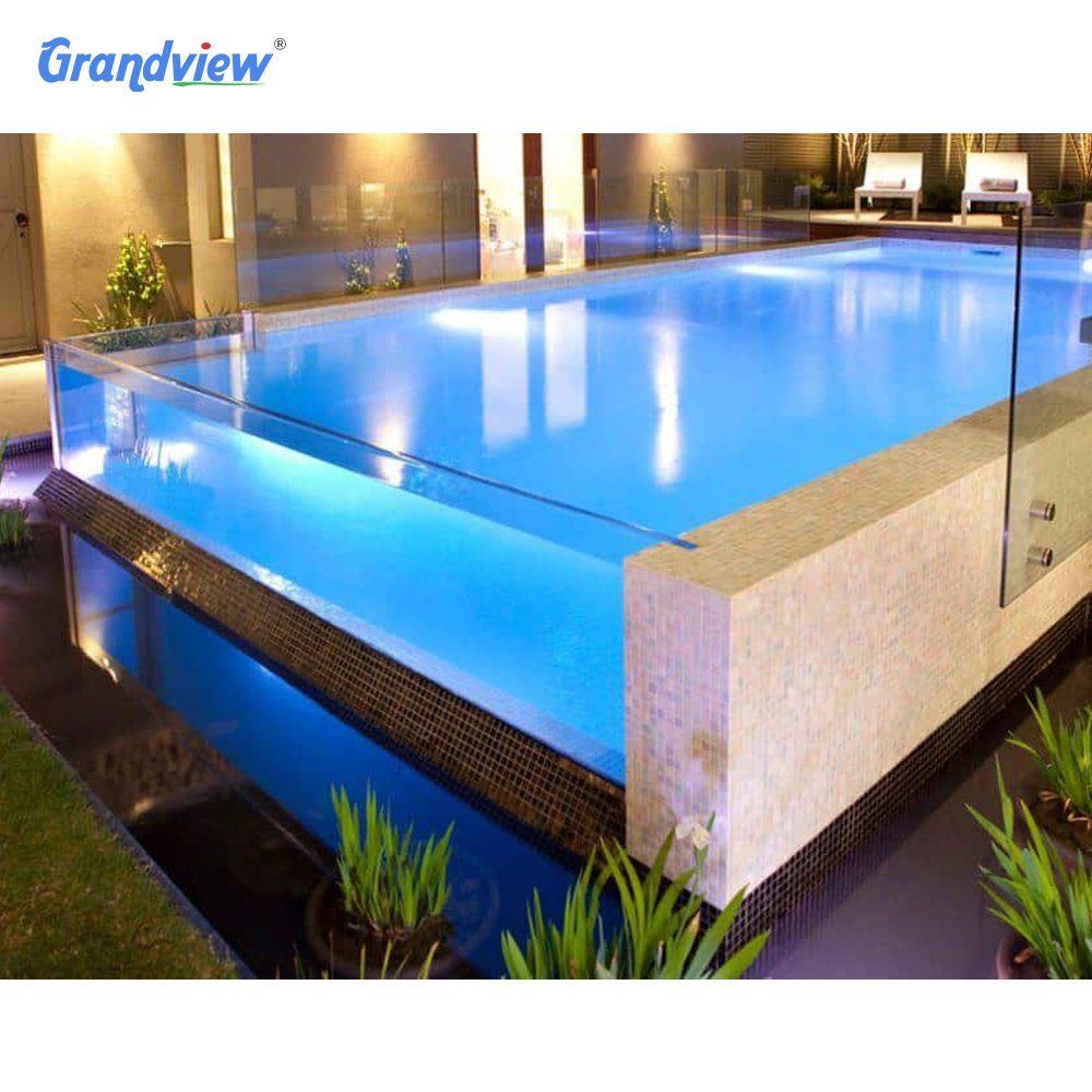 China Design Large Acrylic Glass Tunnel Swimming Pool Walls China Clear Acrylic Swimming Pool Swimming Pool Acrylic Waterfall