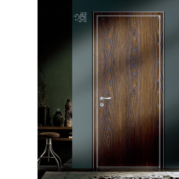 China Latest Technology Bathroom Door, Wooden Bathroom Doors
