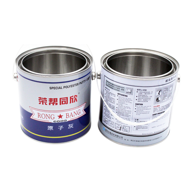 Hot Item 1 Gallon Empty Metal Clear Paint Tin Cans Automatic Machinery
