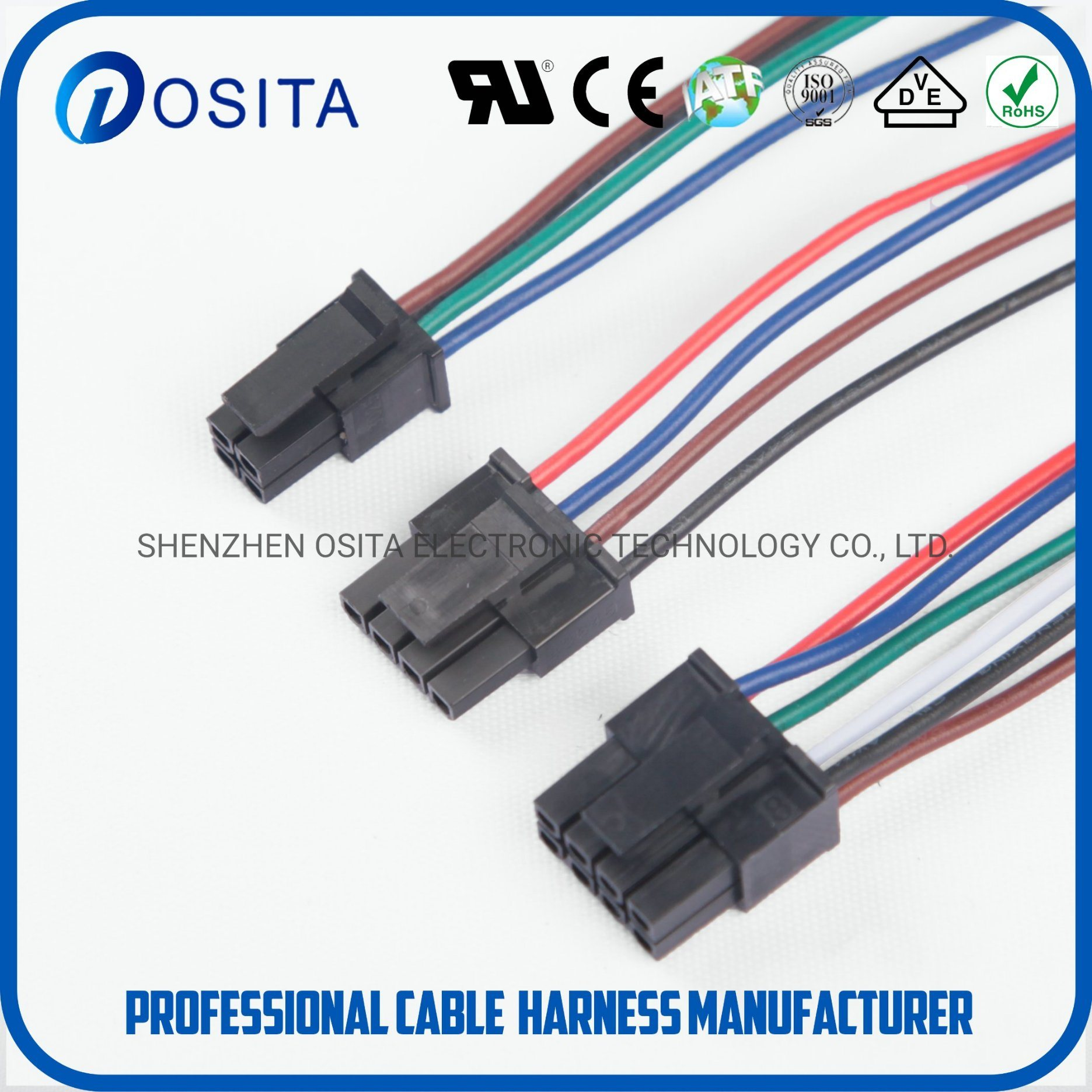 China Medical Wire Harness Connecting Wires for Medical Inspection ...