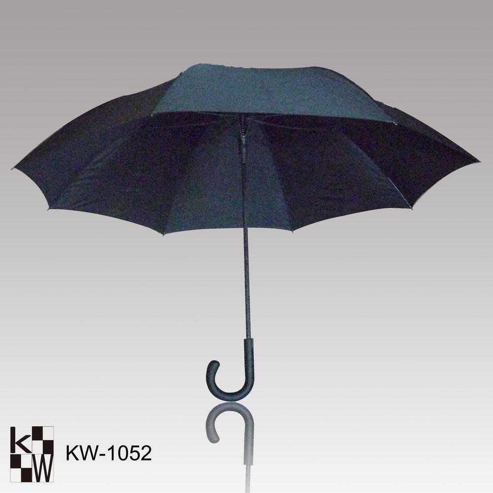 China Stick Fiberglass Rain Umbrella Kw 1052 China