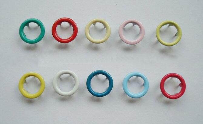 Factory High Quality Prong Fastener Button for Garment, Bags and Shoes
