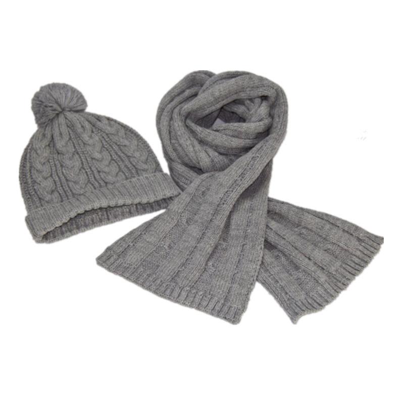 China Hot Sale Winter Products Knitting Hat Scarf Knitting Pattern