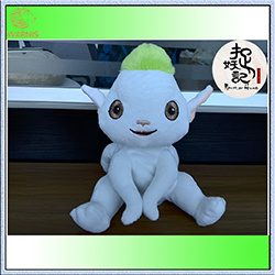 China Movie Monster Hunter Action Toys Cute Huba Voice Recorder