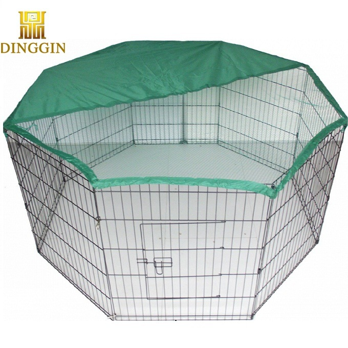 China Welded Wire Dog Playpen with 8 Panels - China Dog Cage, Dog Kennel