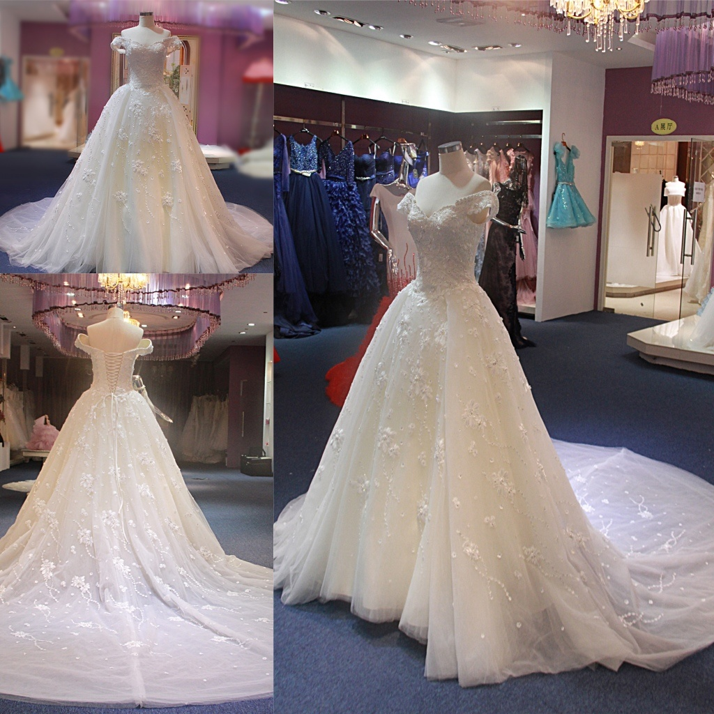 China Wedding Dress 2018 Wgf063 - China Wedding Gown, Bridal Gowns