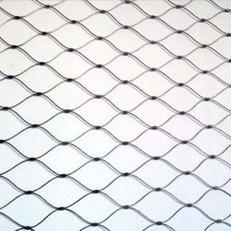 China 304/316 Stainless Steel Cable Wire Rope Mesh for Fence Photos ...