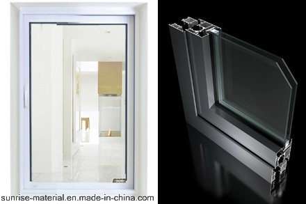 China Aluminium Profile for Double Glass Window and Door
